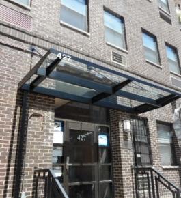427 76th St, New York, NY_glass canopy_6-14-18
