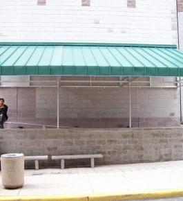 Walkway Cover Alumiframe 2