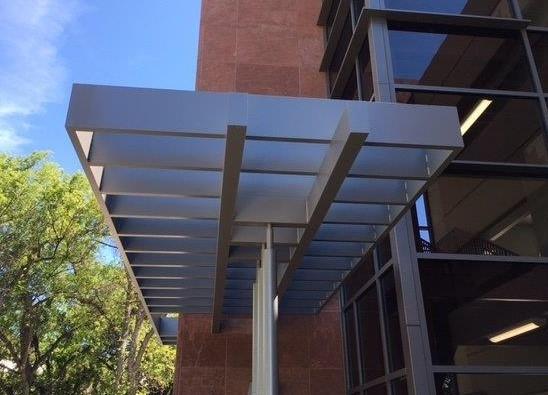 Gallery Extruded Aluminum Canopy Aluminum Frame Custom