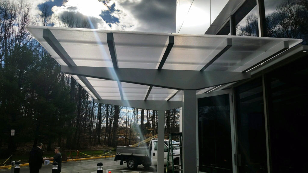 Walkway Covers, Business Canopies, Store Awnings, and Vision Canopies