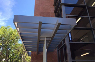 Echoshade & MASA Architectural Canopies: Custom Store Awnings u0026 Canopy Systems