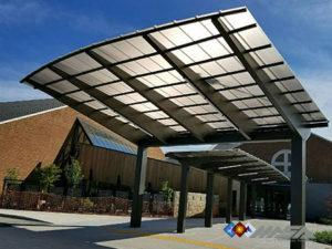 Custom Canopies, Aluminum Canopies, Door Canopy, and Louver Canopy