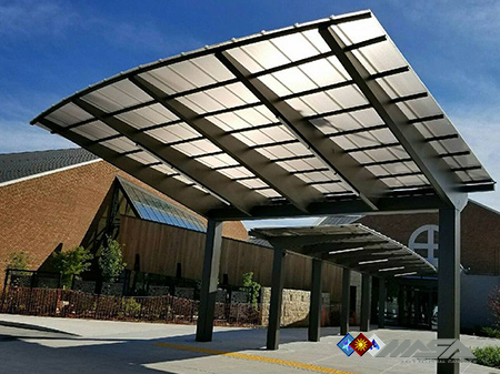 Custom Canopies, Canopies for Stores, Metal Canopies, and Prefab Canopies