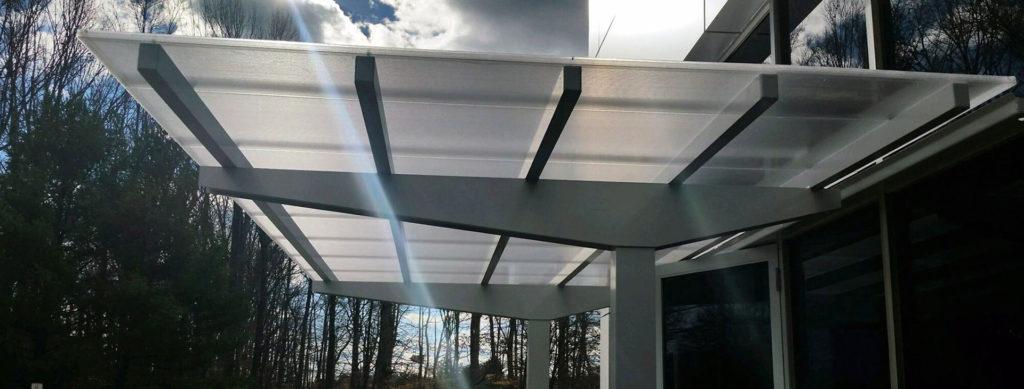 Aluminum Walkways Covers, Aluminum Awnings, and Aluminum Canopies