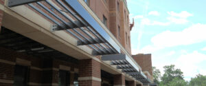 Metal Awnings for Commercial Buildings and Metal Awning Manufacturers